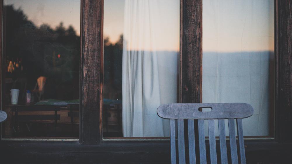 Outside Deck Shot At Dawn